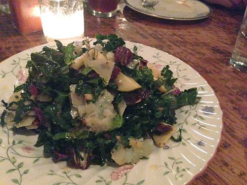 Kale Salad @ Hart and the Hunter