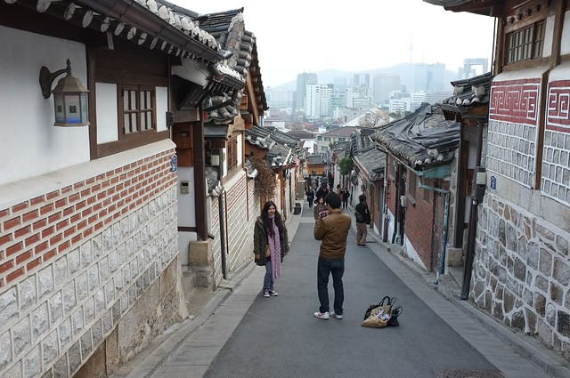 Seoul in Korea, 明洞