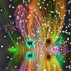 fireworks(0.0), christmas decoration(0.0), christmas lights(0.0), christmas tree(0.0), fractal art(1.0), event(1.0), new year(1.0), circle(1.0),