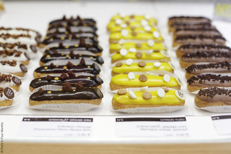 Éclair Tasting for the HiP Paris Blog by Carin Olsson (Paris in Four Months)