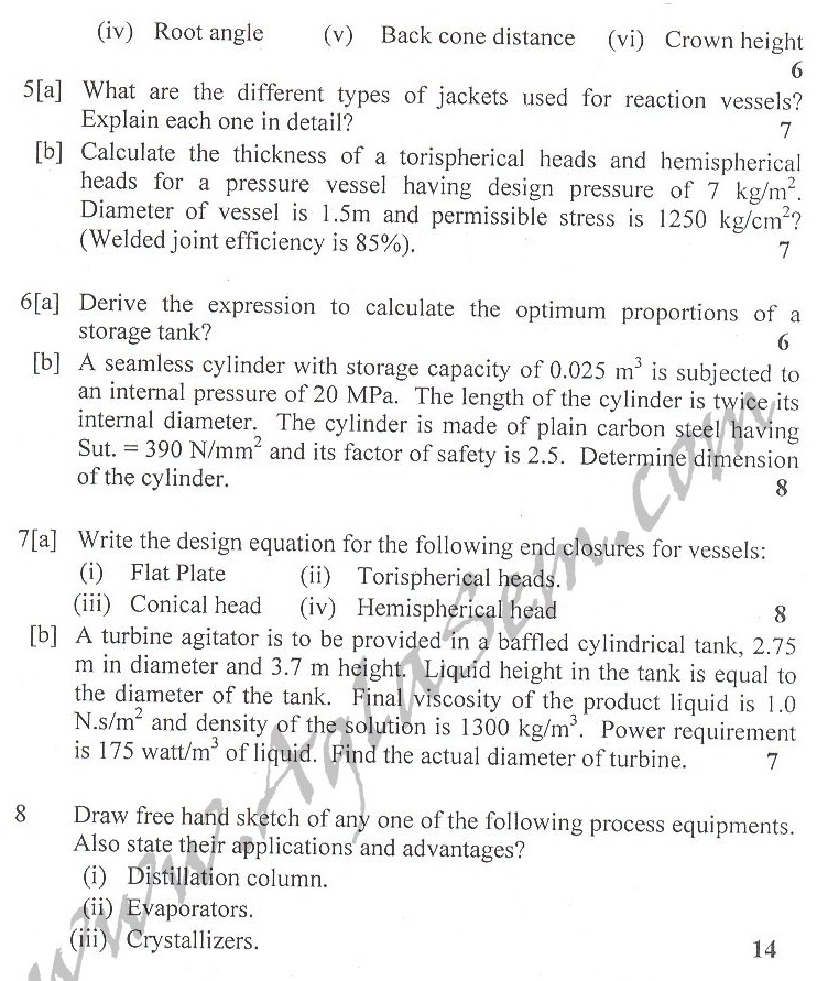 DTU Question Papers 2010 – 4 Semester - End Sem - PT-211