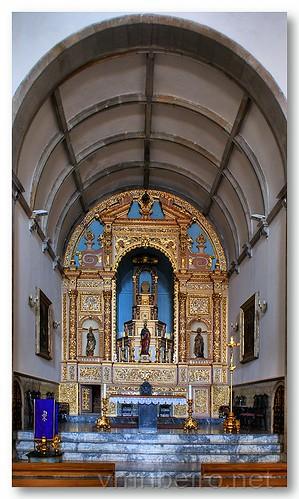 Capela-mor da igreja de S. Pedro, em Faro by VRfoto