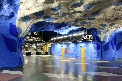 T-Centralen Station, Stockholm Metro (by: imagea.org. creative commons)
