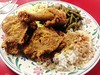 Fried chicken plate - Sister PeeWees
