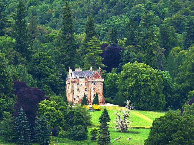 Castle Leod, Strathpeffer, Scotland