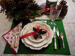 Pinecone, Country Holiday Tabletop