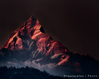 Fishtail Mountain Sunset 5321