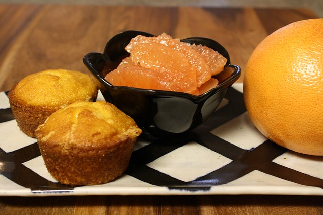 craving muffins  pink grapefruit muffins to be exact