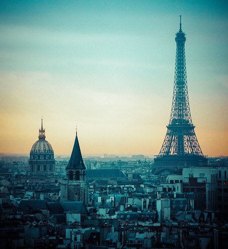 Paris, you never get tired of...