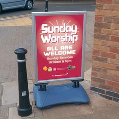 SMC Sunday Worship Sign A1