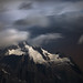 Mont Dolent at Moonlight by a galaxy far, far away...
