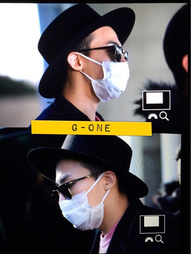 G-Dragon - Incheon Airport - 28jan2015 - G-One - 01