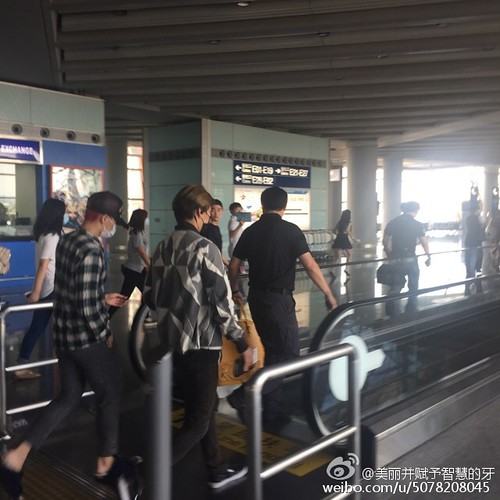 Big Bang - Beijing Airport - 07jun2015 - 美丽并赋予智慧的牙 - 05