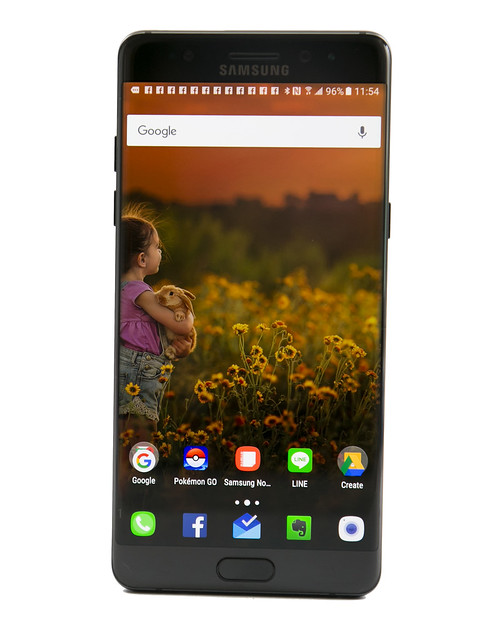 超越自己的完美旗艦! Galaxy Note7 大螢幕、高性能、超強拍照現在還加上 IP68 強悍防水 @3C 達人廖阿輝