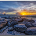 Ocean Inlet Park Sunrise by Fraggle Red