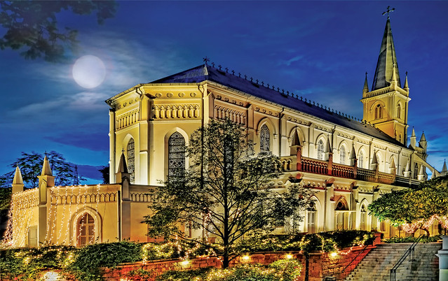 The Grand Old CHIJMES of Singapore...