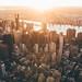 Sunrise over Manhattan by Timothy Schenck