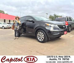 #HappyBirthday to Joanna from Ivan Rodriguez at Capitol Kia!