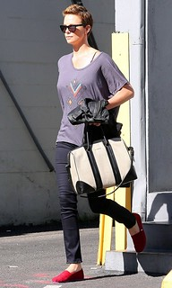 Charlize Theron Toms Celebrity Style Women's Fashion