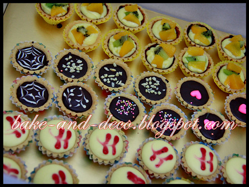 Baking & Deco Class: Variety Tartlet + Apam Polkadot ~ 12 July 2012