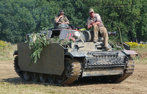 Panzer IV Replica at the War and Peace Show 2011