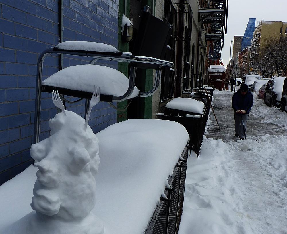 Alien Snowman