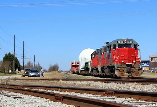 Carolina Piedmont GE Turbine H&W Train (5)
