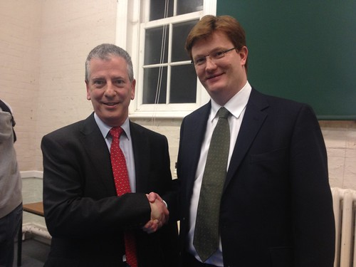 .@dannyalexander congratulates @Mike4Eastleigh on his selection by local Lib Dems tonight