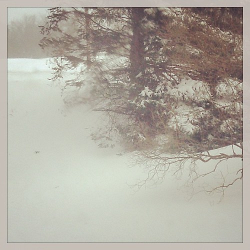 #Maine #snow #quiet