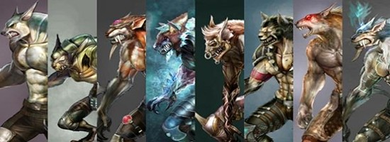 World of Games - Seja um Terrível Lobisomem em WolfTeam