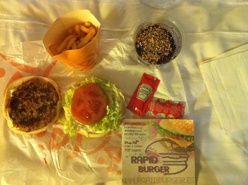 Valencia | Rapid Burger | Menú vegetariano