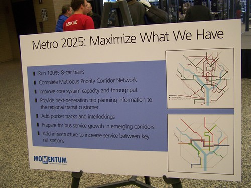 Metro 2025: maximize what we have