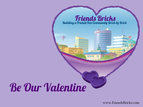 Happy Valentine's Day from the Friends Bricks community!
