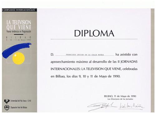 DIPLOMA La Television que viene by LaVisitaComunicacion