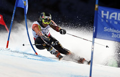 Philip Brown makes his world championship debut with the fastest Canadian time of the night in the team event at world championships in Schladming, Austria. Despite Brown's excellent run, Canada missed the podium by just one one-hundredth of a second.
