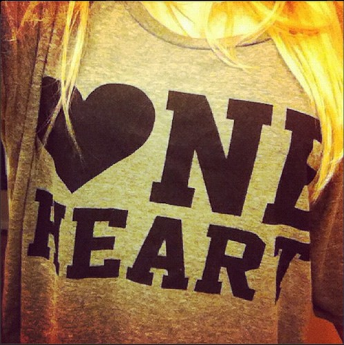 One Heart Shirt By Sportiqe Apparel