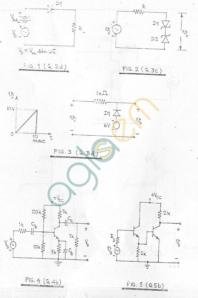 GGSIPU Question Papers Third Semester – End Term 2006 – ETEC-207