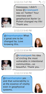 Krista Tippett's Twitter Conversation with Dream Hampton