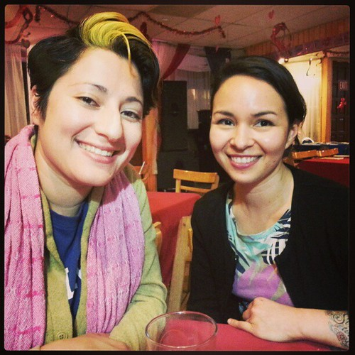 Pati aka Chula Doula (L.A.) and Liz Mayorga, zinester and artist (Bay Area) #lazinefest #poczines