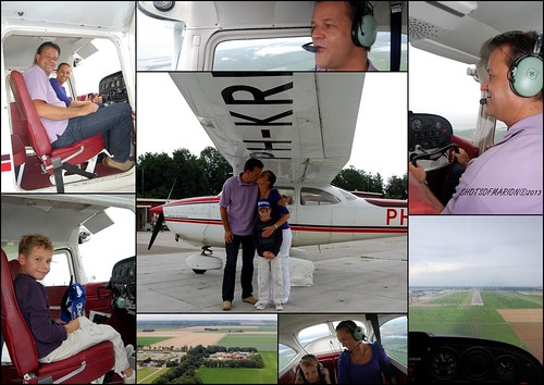 Vliegavontuur van John ,Marion en Clarence Zelf vliegen in een Cessna 172 ( PH- KRI) / Flying Adventure of John, Marion en Clarence Flying a Cessna 172 ( PH- KRI)