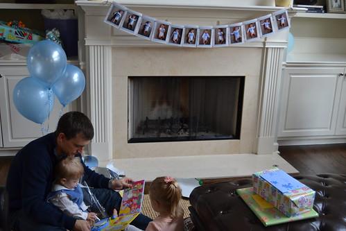 Bennett's 1st Birthday! - 32