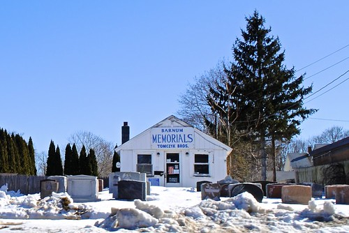 Barnum Memorials - Courtesy Wires in the Walls on Flickr