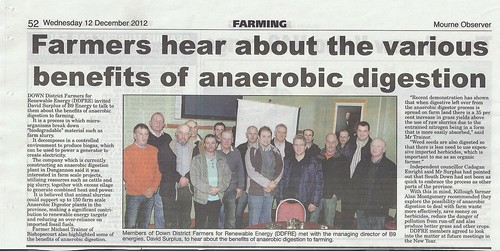 Lecale farmers investigate Anerobic Digestion 12th DEC 2012 by CadoganEnright