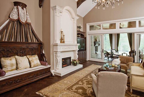 Indian Hill Chateau Living Room