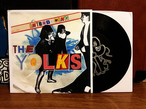 "The Yolks - Introducing The Yolks 7"" by Tim PopKid"