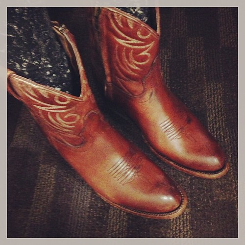 new boots from the institution that is Allen's #austin
