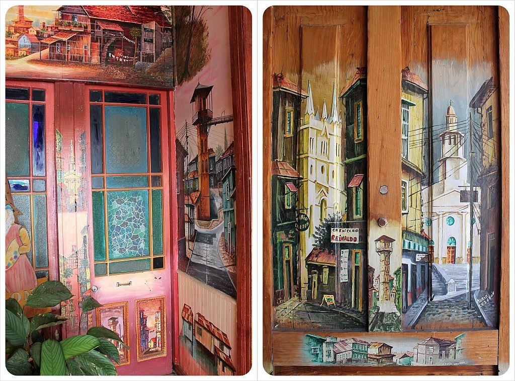 valparaiso painted doors