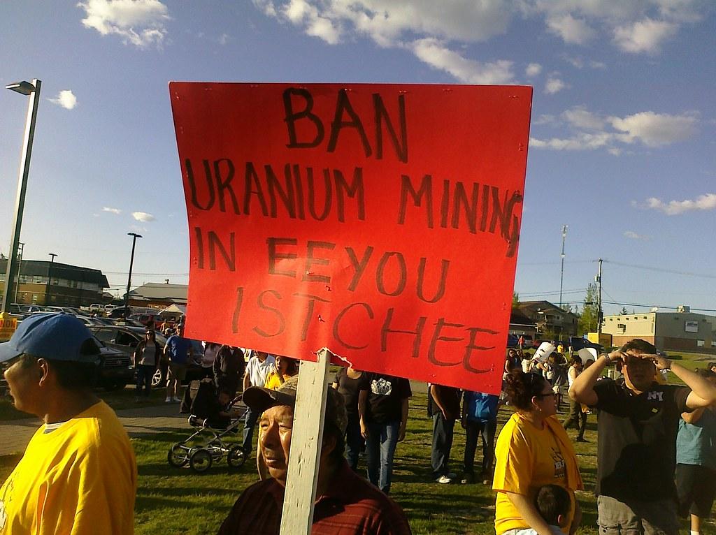 Ban uranium mining in Eeyou Istchee