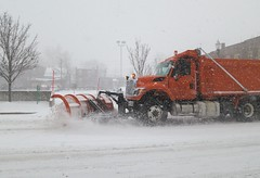 asphalt(0.0), winter(1.0), vehicle(1.0), transport(1.0), snow(1.0), snow removal(1.0), snowplow(1.0), winter storm(1.0), blizzard(1.0),