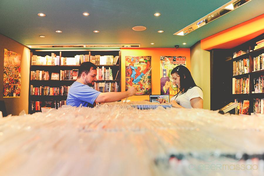 Ana e Fabio E-session na Loja Geek Alameda Santos (4 de 38)